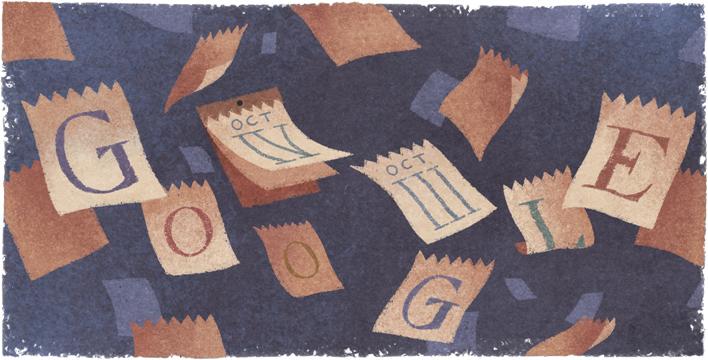 Google グレゴリオ暦制定434周年記念ロゴに!