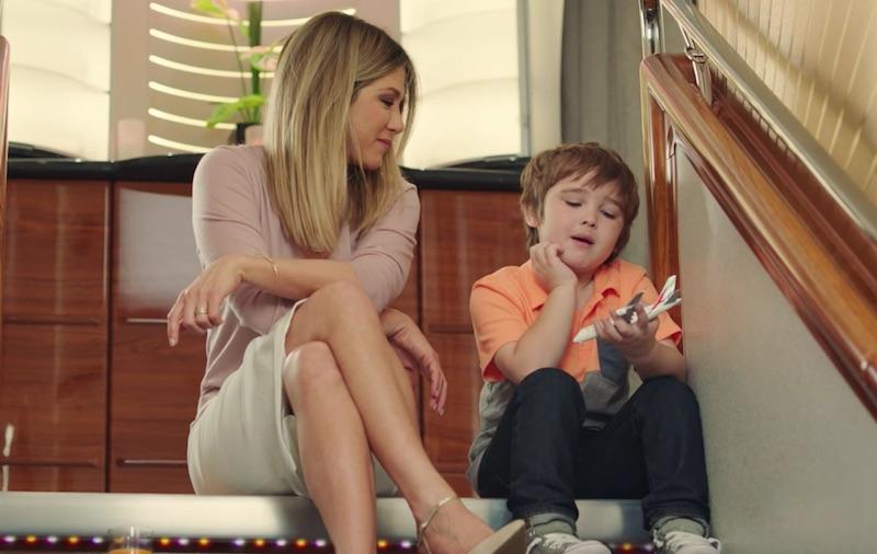 Jennifer Aniston TV commercial   A380