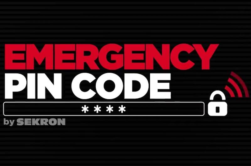 Emergency PIN Code By Sekron
