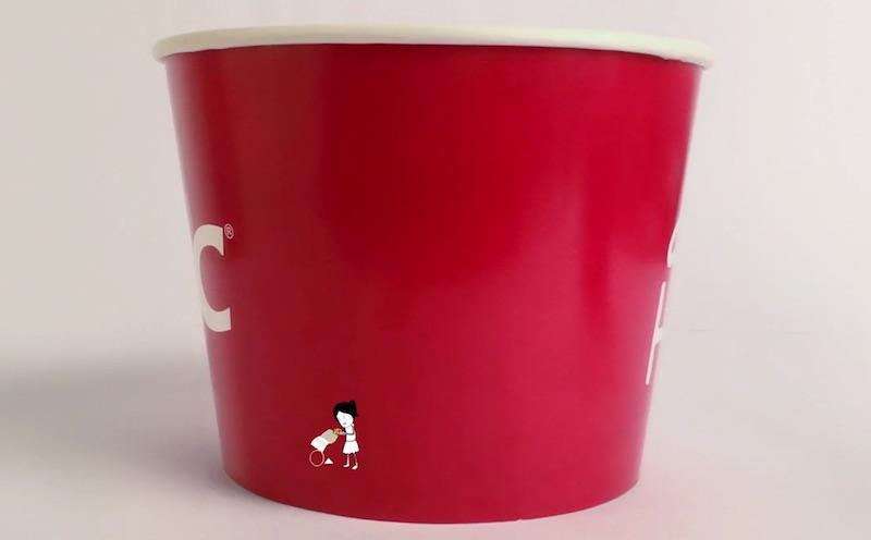 KFC Add Hope Pinky's Story