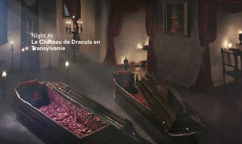 Airbnbでルーマニアのドラキュラ城に泊ろう