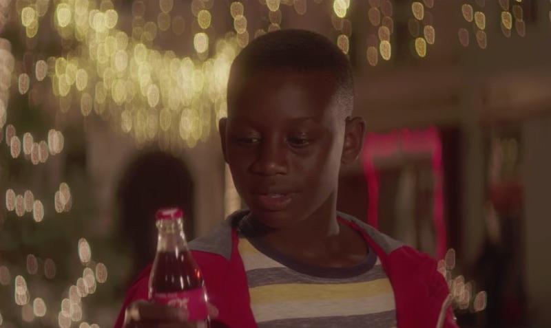Neste Natal, agradeça com Coca-Cola