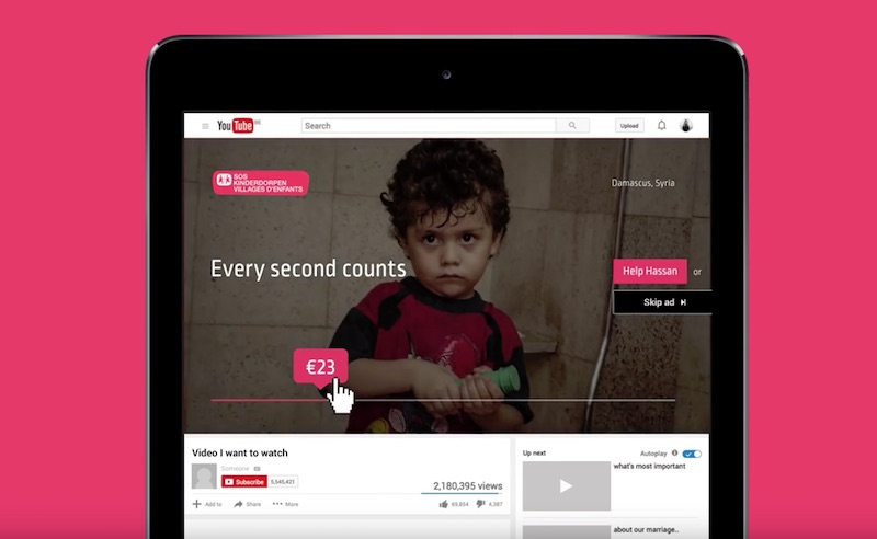 SOS Children's Villages - Every Second Counts