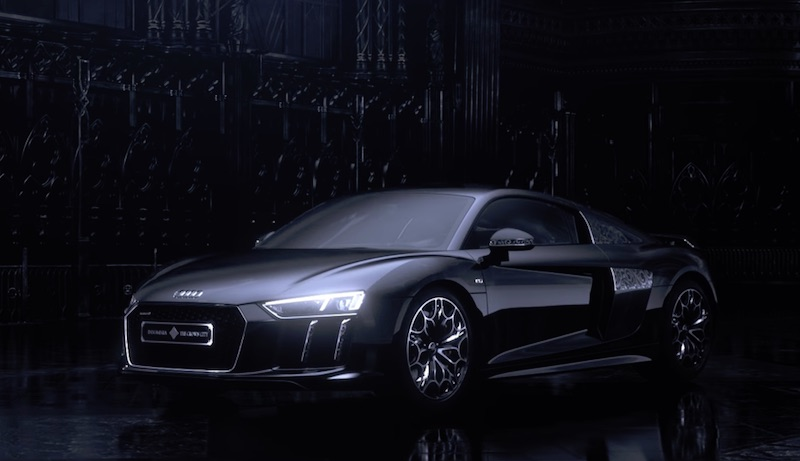 The Audi R8 Star of Lucis has come to the real world from FFXV