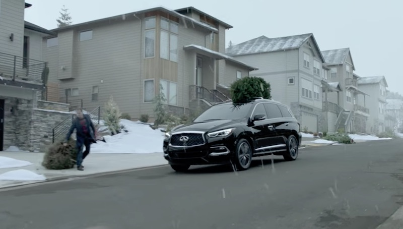 INFINITI Start a New Tradition this Winter