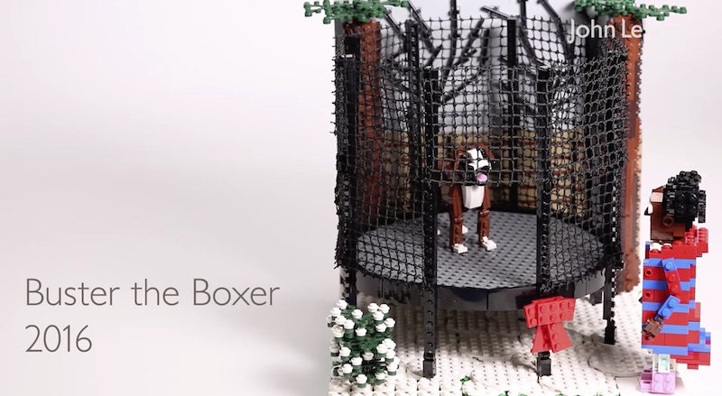 Five years of John Lewis adverts in Lego