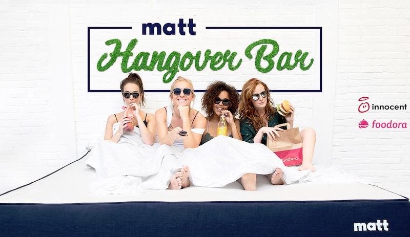 The worlds first Matt Hangover Bar