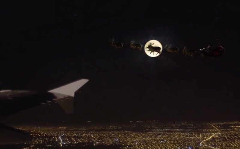 A Christmas Flight, by Graphene to LATAM Airlines