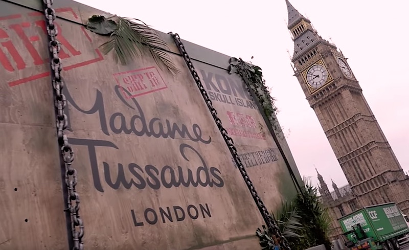 Kong Skull Island is coming to Madame Tussauds London