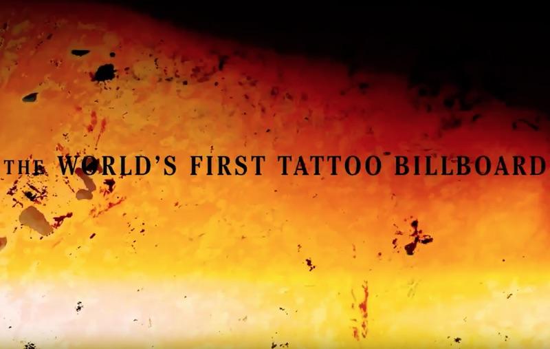 Bulleit Presents Frontier Works - Tattoo