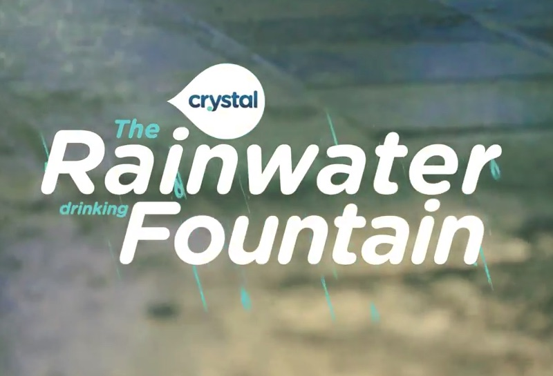 The Rainwater Drinking Fountain
