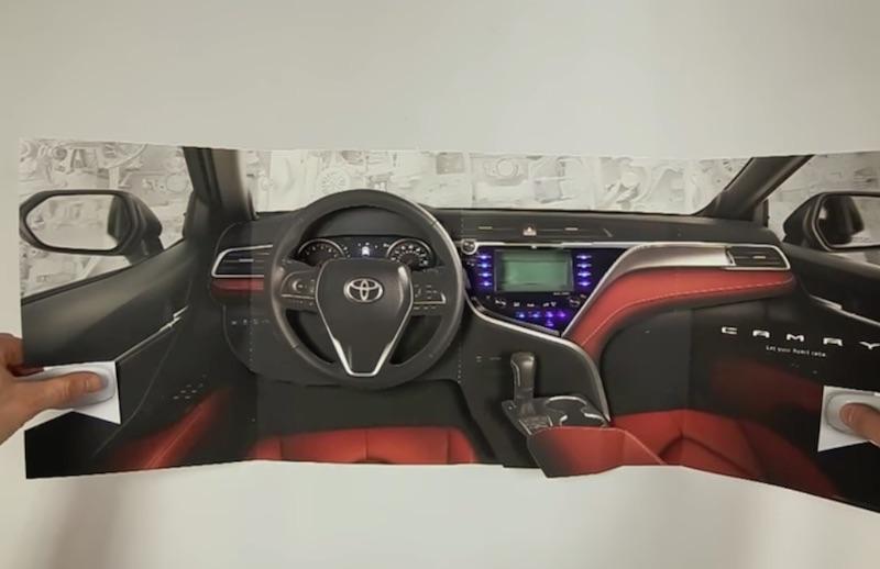 Toyota Camry Pop-Up Magazine