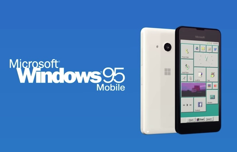 Introducing Windows 95 Mobile