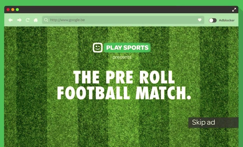 The Pre Roll Football Match
