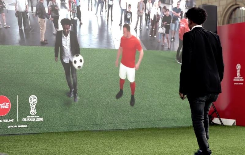 Coca Cola FIFA World Cup AR in Zurich