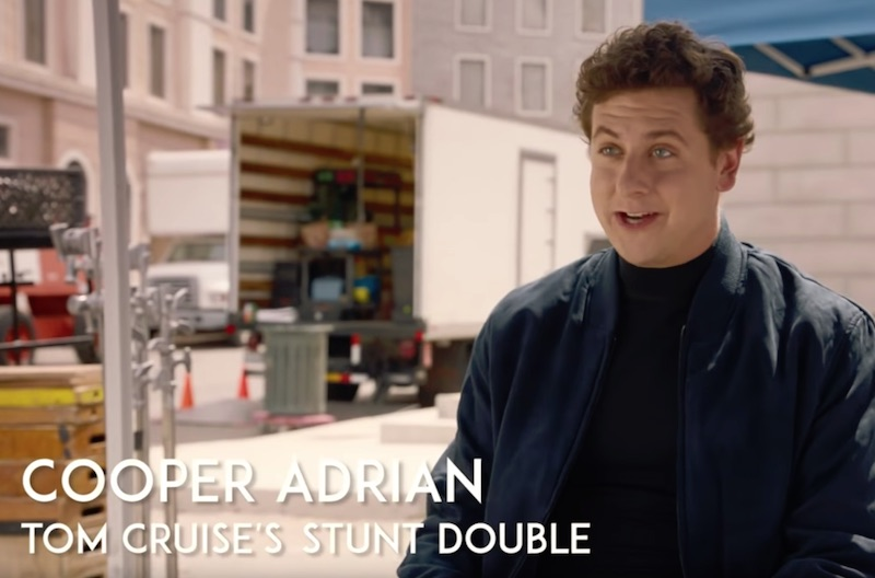 Why You Won't See This Stunt Double for Tom Cruise on the Big Screen