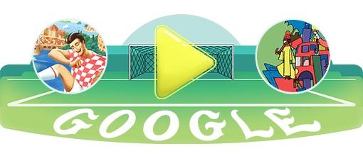 Google 2018年ワールドカップ - 23 日目ロゴに!