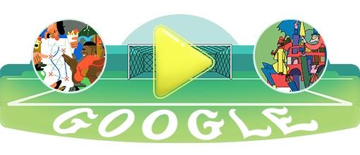 Google 2018年ワールドカップ - 24 日目ロゴに!