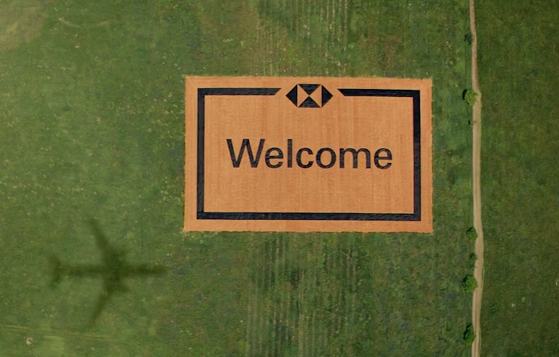 #HSBCWelcome | The World's Largest Welcome Mat from HSBC