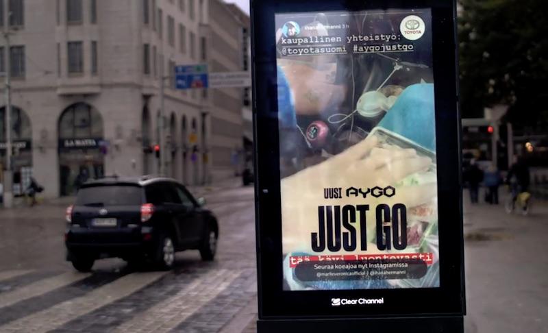 Aygo take over in Helsinki