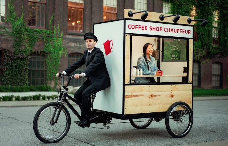 NESCAFÉ SWEET & CREAMY – Coffee Shop Chauffeur