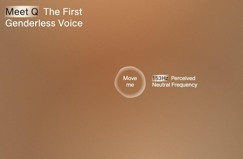 Meet Q The First Genderless Voice