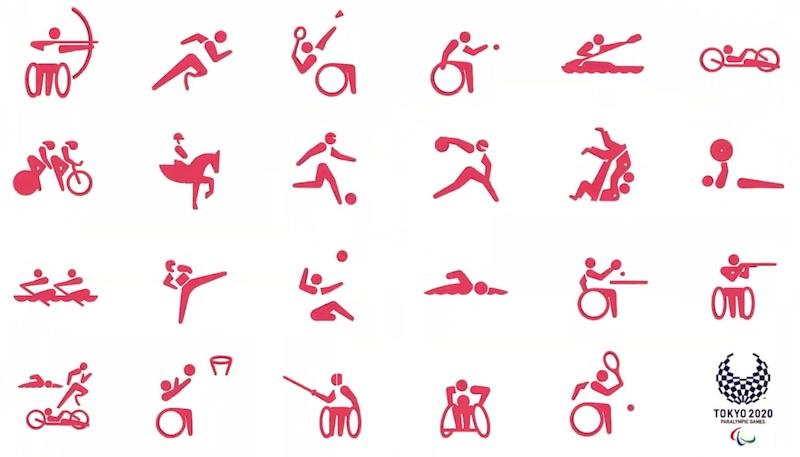 東京2020パラリンピックスポーツピクトグラム決定