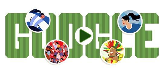 Google 2019年女子ワールドカップ - 4日目ロゴに!