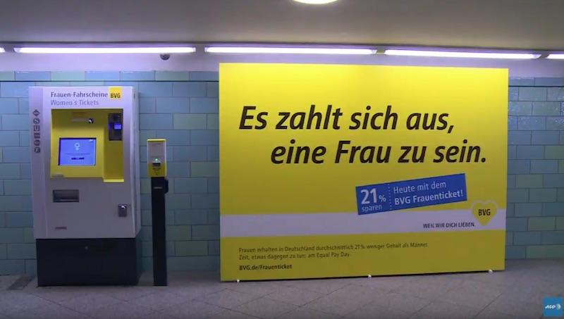 Equal Pay Day: Frauen fahren in Berlin billiger U-Bahn