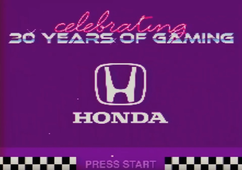 Celebrate 30 years of gaming with Honda