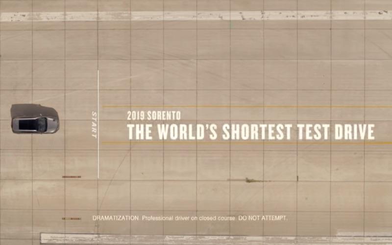 The World's Shortest Test Drive | 2019 Kia Sorento