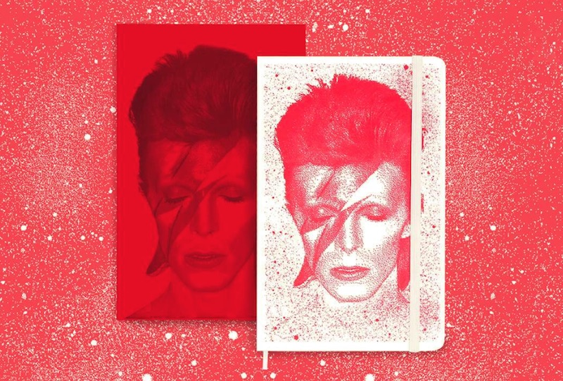 Discover the Moleskine David Bowie Special Edition Collection