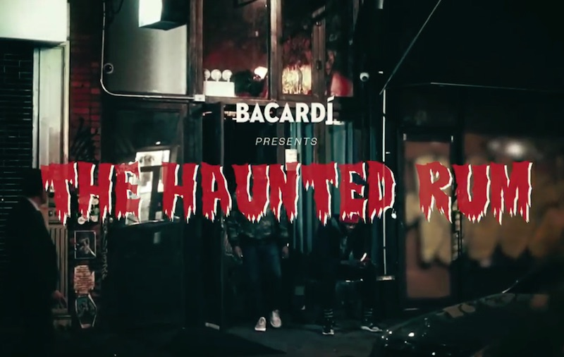 BACARDÍ presents THE HAUNTED RUM