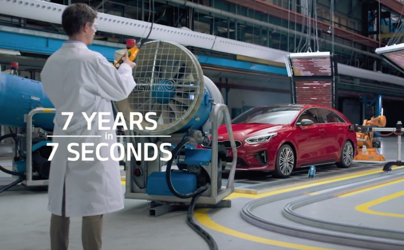 KIA 7 Years in 7 Seconds