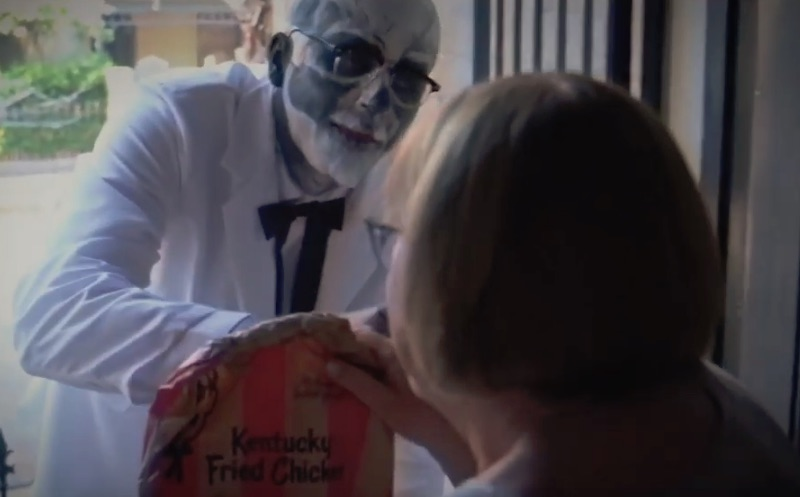 KFC Delivery | Halloween Trick or Treat