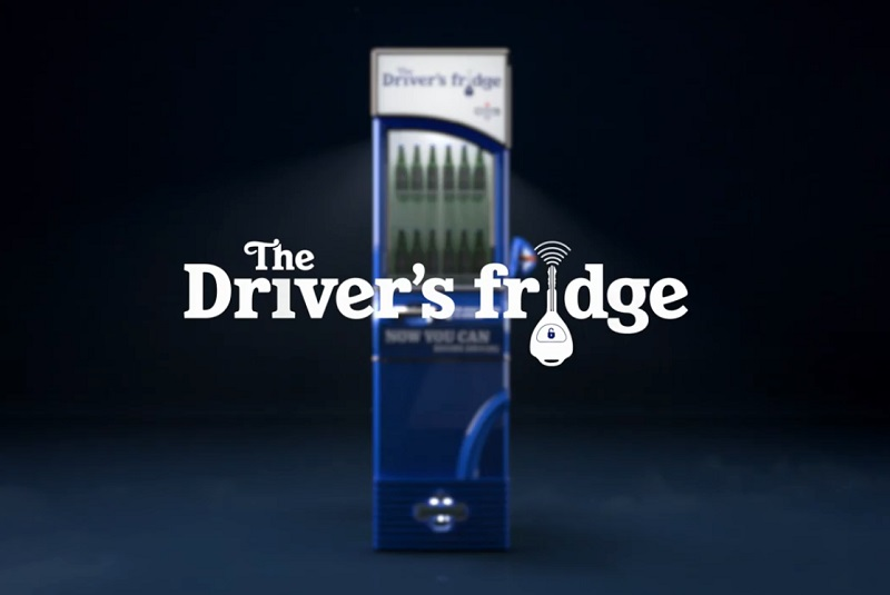 Heineken 0.0. Driver's Fridge
