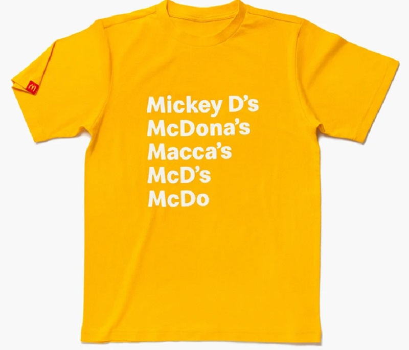 Official McDonald's Clothing and Merchandise