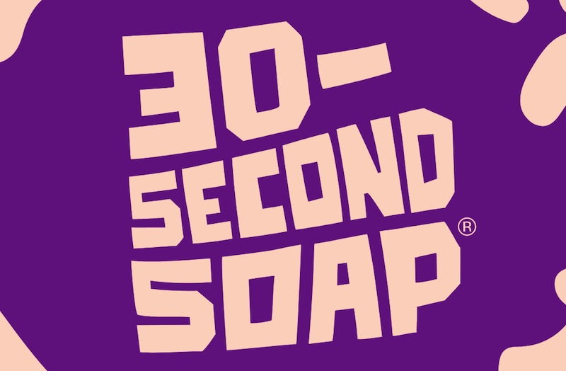 30-Second Soap The self-timing soap