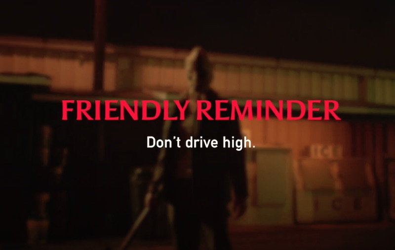 You Can Run, But You Can't Drive High