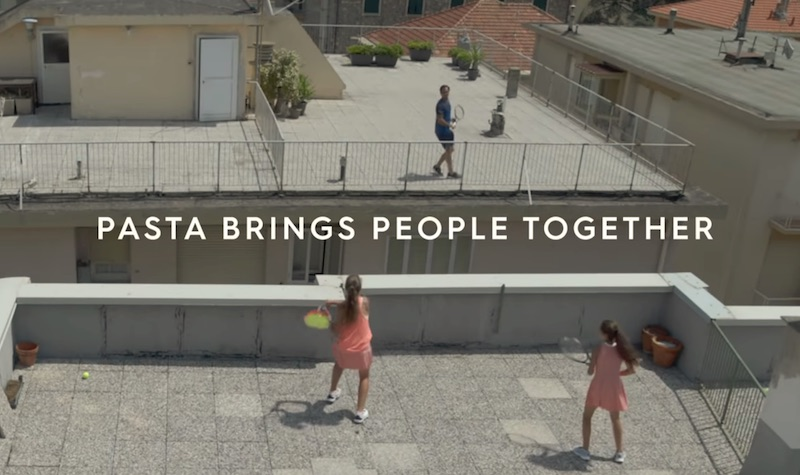 Barilla | The Rooftop Match with Roger Federer