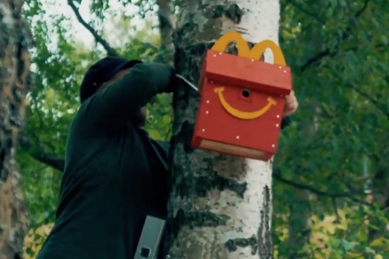 McDonald's   Happy Meal Bird Box