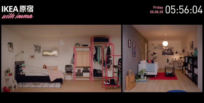 [LIVE] IKEA原宿 with imma