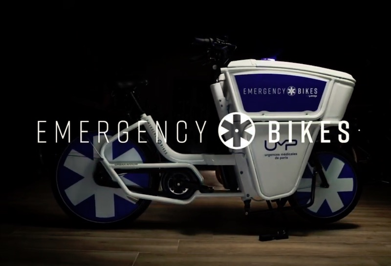 Emergency Bikes, the new city-proof medical vehicle