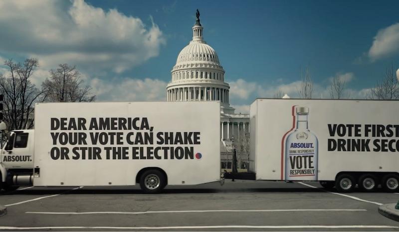 Drink Responsibly. #VoteResponsibly.