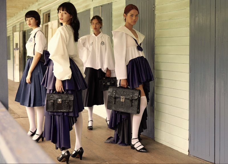 Wacoal x Post-thesis Go girls collection