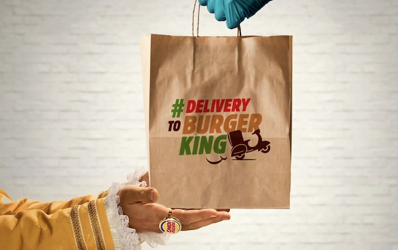 Burger King Lima orders in