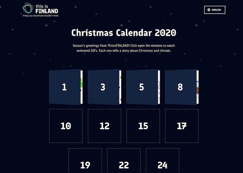 Christmas Calendar 2020