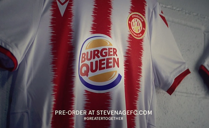 Burger Queen x Stevenage FC