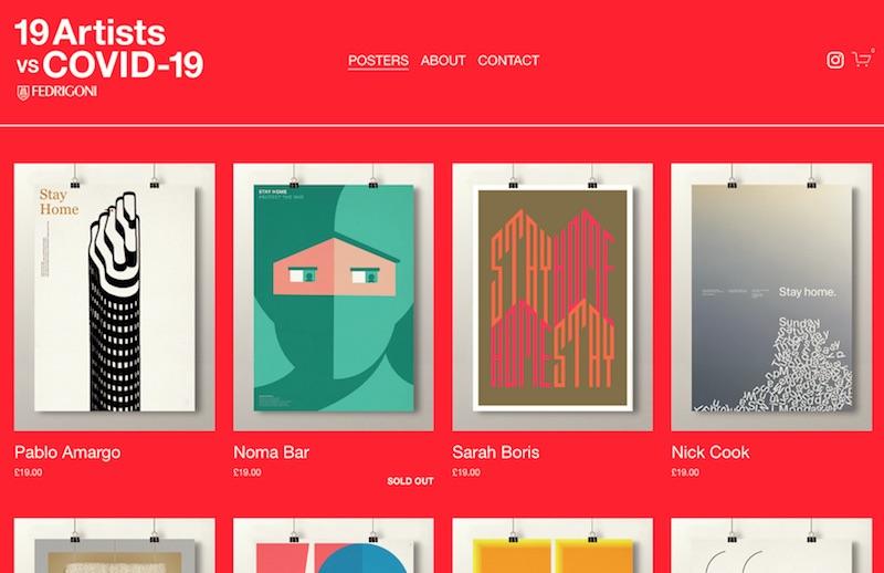 19 Artists vs COVID-19
