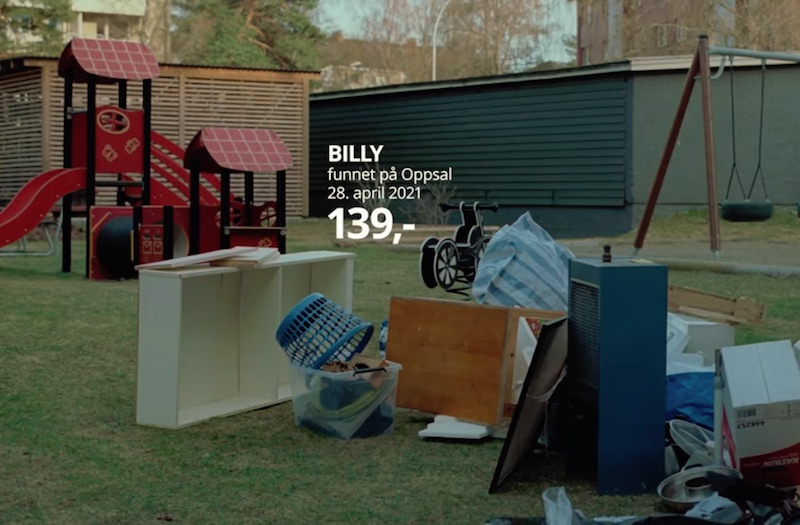 IKEA Trash Collection